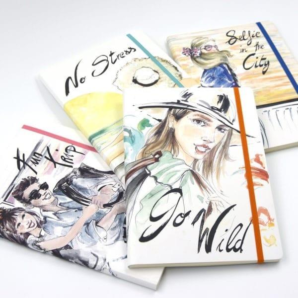 Pack cuadernos de viaje