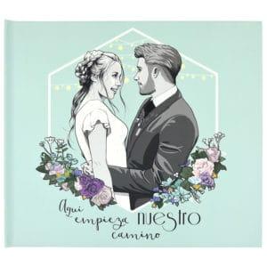 Álbum de fotos de boda